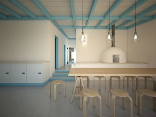 Kitchen units by brf architecture