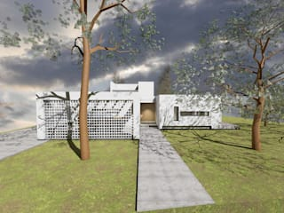 Casa CPJ: Casas  por Sousa Macedo, Arquitectos, Lda.,Moderno