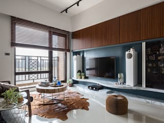 DYD INTERIOR大漾帝國際室內裝修有限公司 Living room