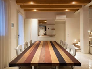 Progetto Atlante Sala da pranzo moderna di Tratto Sottile Moderno