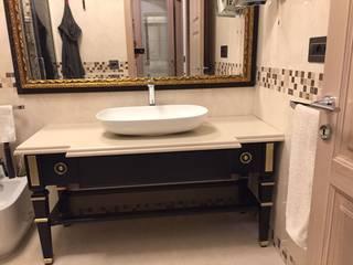 Falegnameria su misura BathroomStorage Kayu Black