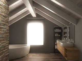 Bagno nel sottotetto: Bagno in stile  di 3d-arch