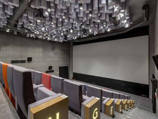 Boğaziçi Üniversitesi Sinema Salonu SİNEBU Halükar Mimarlık Modern