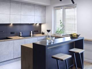 Żoliborz I I Realizacja: styl , w kategorii Kuchnia zaprojektowany przez DW SIGN Pracownia Architektury Wnętrz