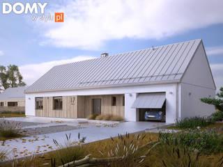 Casas escandinavas de Biuro Projektów MTM Styl - domywstylu.pl Escandinavo
