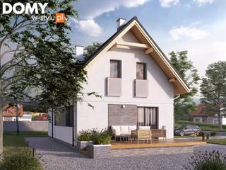 Nhà by Biuro Projektów MTM Styl - domywstylu.pl