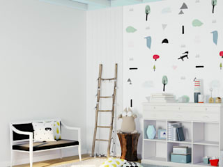 Humpty Dumpty Room Decoration Habitaciones de bebé Multicolor