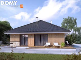 Casas modernas de Biuro Projektów MTM Styl - domywstylu.pl Moderno