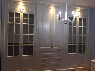 Falegnameria su misura BedroomWardrobes & closets Kayu White