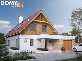Biuro Projektów MTM Styl - domywstylu.pl Casas modernas