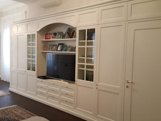 Falegnameria su misura Dining roomDressers & sideboards Kayu White
