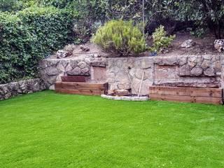 césped artificial modelo nature de paisajistas y jardineros