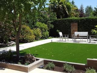 pavimento y césped artificial de paisajistas y jardineros