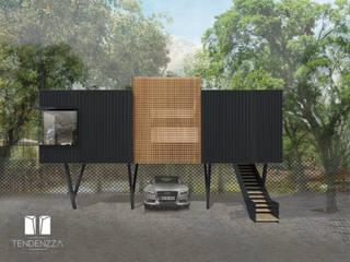 Ruang Studi/Kantor Modern Oleh TEZZA Modern