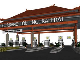 NGURAH RAI – BENOA toll gate Oleh Gubah Ruang