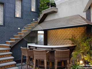 Terrace Garden Designers in Delhi Modern balcony, veranda & terrace by Studio Machaan Modern