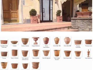 Handcrafted terracotta: product of passion - handmade terracotta pottery:   door Terrecotte Europe, Mediterraan