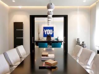 ห้องทำงาน/อ่านหนังสือ by Milan Iluminación