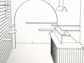 Rénovation et agencement d'un restaurant à Paris Bomax Gastronomie moderne Bois Rose