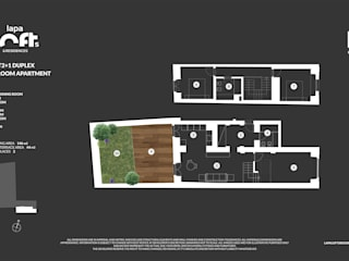 Lapa Lofts & Residences por Imovideo Moderno
