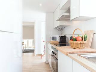 Vista da cozinha:   por Imovideo