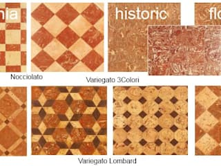 Handcrafted terracotta flooring: Padania historic floors Terrecotte Europe Музеї Плитки Бежевий