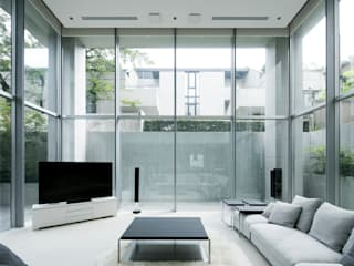 JWA,Jun Watanabe & Associates Modern living room