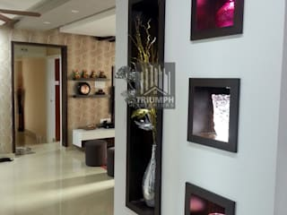 Display unit in Living area:   by TRIUMPH INTERIORS