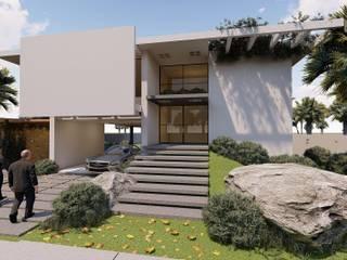 Residencia no Terras doAlphaville - Alto padrão em acabamento:   por DP Projetos