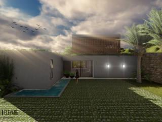 Residência AP Casas modernas por Studio Elevare Arquitetura e Interiores Moderno