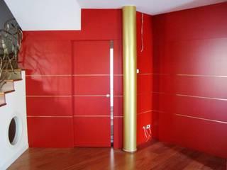Falegnameria su misura Living roomShelves Kayu Red