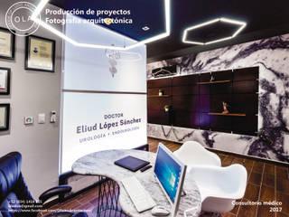 Consultorio médico Estudios y despachos modernos de OLA.- office of ludic architecture Moderno