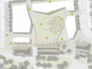 Сад в стиле модерн от atelier architettura Модерн