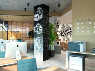 Artichok Design Office buildings Grey