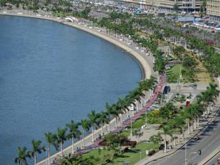Baía de Luanda: Jardins  por LandPlan,Tropical