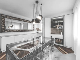 Custom Foldaway Kitchen MODO Architettura Kitchen