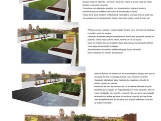 CORTICEIRO - JARDIM N&H: Jardins  por Jardins e Exteriores - Arthur Pereira - Arqto. Paisagista,Moderno