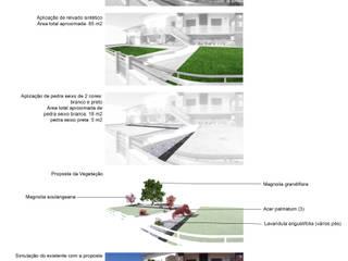 GANDARA - JARDIM RF: Jardins  por Jardins e Exteriores - Arthur Pereira - Arqto. Paisagista,Moderno