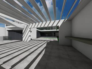 Casa CAR: Casas modernas por Sousa Macedo, Arquitectos, Lda.