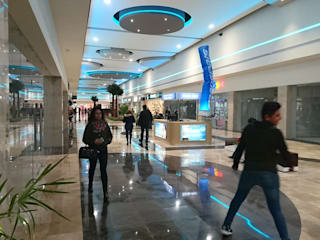 Centro comercial Aventa Centros comerciales de estilo moderno de OLA.- office of ludic architecture Moderno