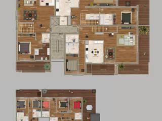 Material de comunicação visual diverso para Imobiliário por Imovideo