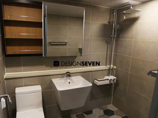 디자인세븐 BañosBañeras y duchas Azulejos Gris