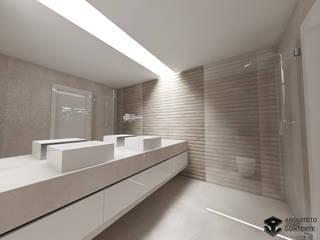 Arquiteto João Contente – Apartamento EJ:   por Arquiteto João Contente Associados