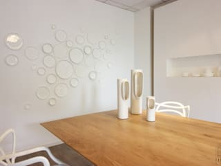 Salle de dégustation BRUGES Espaces de bureaux modernes par FABRIQUE D'ESPACE Moderne