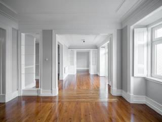 Apartamento em Lisboa - São Mamede Salas de estar escandinavas por Archimais Escandinavo