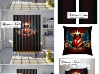 Décoration Prestige tissu imprimé motifs Armoiries Héraldique:  de style  par Rideau-voile, Classique