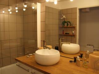 Appartement BORDEAUX Les Chartrons Salle de bain moderne par FABRIQUE D'ESPACE Moderne