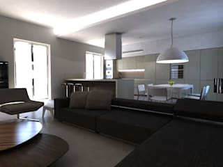 Modern living room by Alfonso D'errico Architetto Modern