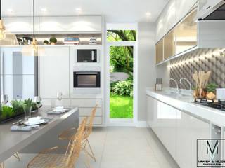 Cozinha Clean Cozinhas modernas por Miranda & Velloso Arquitetura e Design Moderno