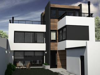 Casa RM: Casas unifamiliares de estilo  por MC Arquitectura
